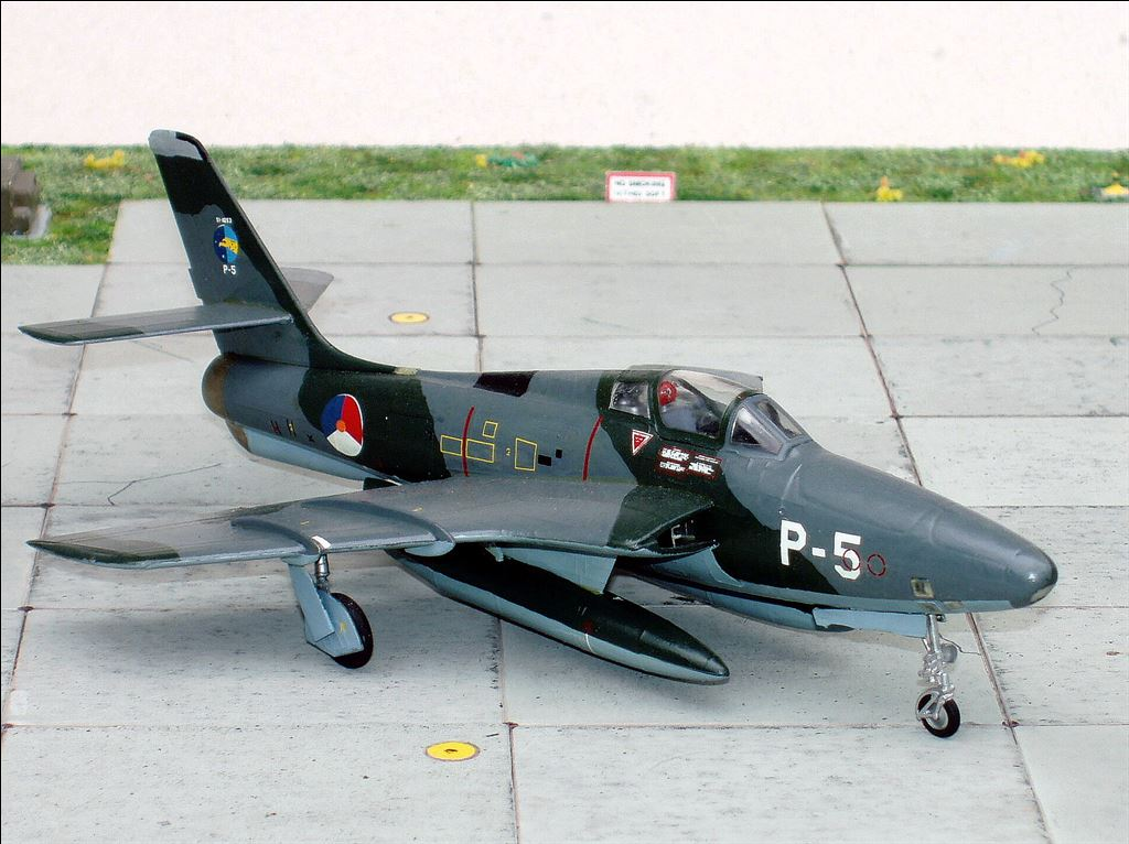 Republic RF 84F Thunderflash 306 Sqn Recon AKleijn
