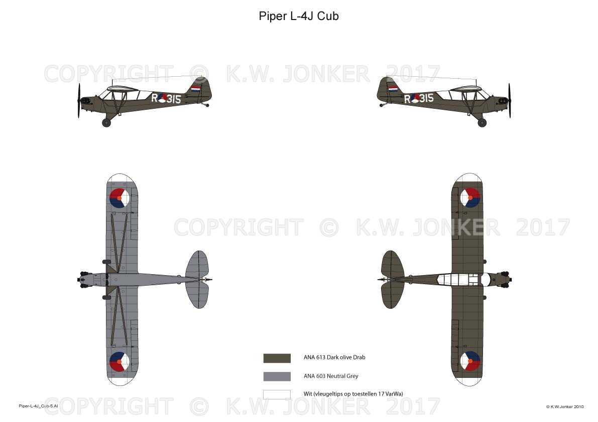 Piper L 4J Cub 5